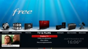 Freebox Revolution (interface TV)