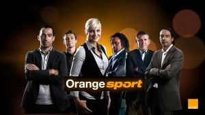 La cha�ne Orange sport sur la TV d'Orange