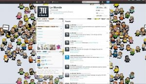 site journal Monde franchit cap million abonnes Twitter