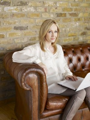 J.K. Rowling, l'auteure de 'Harry Potter'.